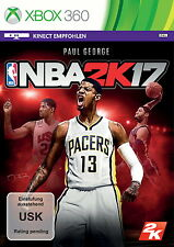 *NBA 2K17*XBOX 360*deutsche Version*Neu&OVP*