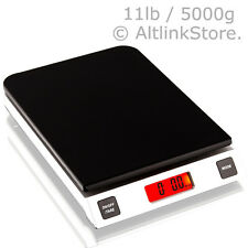 SAGA DIGITAL KITCHEN SCALE 11LB 5KG/5000G x 1G oz DIET FOOD WEIGHT POSTAL W/S/GR