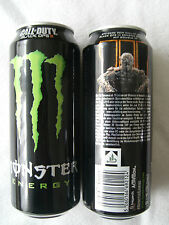 1 full energy drink can, = monstruos, Call of Duty Black Ops