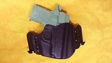 HOLSTER BLACK KYDEX SIG P938 w/TLR6 W/Speed Clips