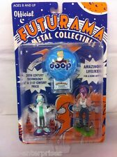 Futurama Official Metal Collectible Figure Set Rocket USA 2001