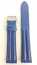 SEIKO FLIGHTMASTER SPORTS 150 BLUE LEATHER WATCH STRAP 7T32-7C20 22mm Band