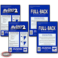 100 - E. GERBER FULL-BACK & MYLITES 2 STANDARD Mylar Bags & Boards 700FB/725M2