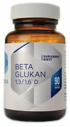 Beta Glucan 1,3 / 1,6D 90 caps High degree of purity (85%) Hepatica POLAND