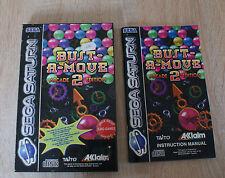 sega saturn jeu bust a move 2 arcade edition pal complet