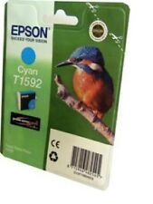 Epson Original Kingfisher T1592 UltraChrome CYAN Ink Cartridge FOR R2000