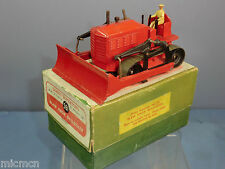 Dinky SUPERTOYS modèle no 561 blaw KNOX BULLDOZER (Version rouge) VN MIB