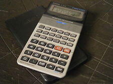 CALCOLATRICE CASIO FX-250H FRACTION CALCULATOR ORIGINALE FUNZIONANTE