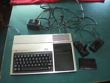 Texas Instruments TI-99/4A TI994A computer setup Parsec TI Invaders mostly works