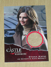 2014 Cryptozoic CASTLE Season 3/4 wardrobe Stana Katic M02