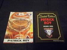 Oddball Diamond Club 1 Limited Edition Patrick Roy Promo Card Montreal Canadiens