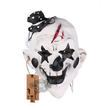 Scary Clown Latex Mask Full Face Cosplay Masquerade Adult Ghost Halloween Props