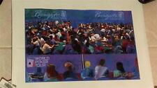 Bill Lopa Giclee Numbered Signed World Poker Tour / Borgata Poker Open 2005. COA