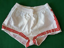 vintage shiny shorts SEB SPORT glanz gay sprinter run adidas trifoil 80 90 sz4