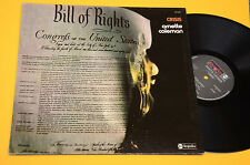 ORNETTE COLEMANN LP CRISIS TOP FREE JAZZ ORIG ITALY 1974 EX ! AUDIOFILI ! GATEFO