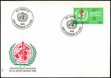 Switzerland 1986, 140c World Health Org. FDC First Day Cover #C37907
