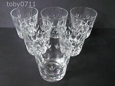 "ROYAL DOULTON ASHMONT SET OF SIX 3"" WHISKY / OLD FASHIONED GLASSES (Ref651)"