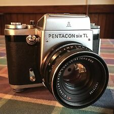 Pentacon Six TL 6x6 SLR with MC Zeiss Biometar 2.8/80 Jena DDR, Beautiful!