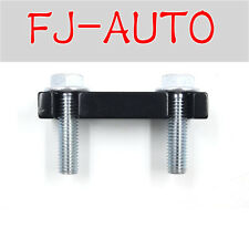 Black Duramax Fuel Filter Head Housing Spacer and 2pcs Bolts 2001-2016