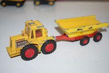 Matchbox Superkings K-5 Muir Hill Tractor & Trailer