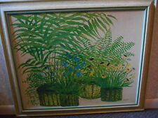 Turner Wall Accessory Print Primavera 29 X 36 Vintage Whitewashed Frame 1960s