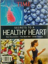 Time Secrets to a Healthy Heart Discoveries Diet Smart Fitness FREE SHIPPING sb