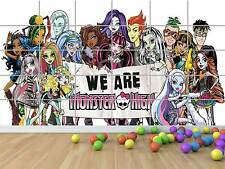 MONSTER HIGH PERSONNAGES CHARACTERS GEANT POSTER CHAMBRE ENFANTS ROOM KIDS