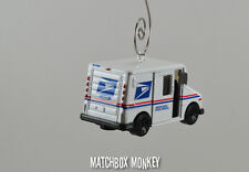 USPS US Postal Service Mail Delivery Truck Custom 1/64 Christmas Ornament UPS