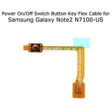 New On/Off Power Switch Button Key Flex Cable for Samsung Galaxy Note 2 N7100