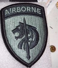 ARMY PATCH,SSI,  SPECIAL OPERATIONS COMMAND-AFRICA, ACU, WITH VELCR