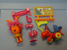 1969 Mattel Liddle Kiddle Upsy Downsy Miss Information Doll + Accessories*