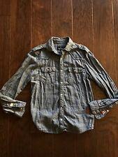 Buffalo David Bitton Button Flannel Shirt Small