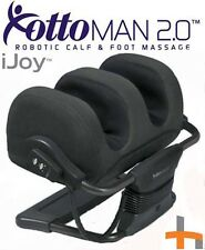 iJoy OTTOMAN 2.0 Human Touch Foot massage -  Black Microsuede Fabric MASSAGER
