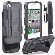 Future Armor Impact Hard Kickstand Belt Clip Holster Combo Case For iPhone 4 4S
