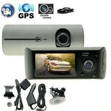"""G-sensor Dual Lens HD 2.7"""" Car DVR Crash CAM dash Camera Driving Recorder"""
