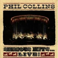 PHIL COLLINS - SERIOUS HITS...LIVE CD POP 15 TRACKS NEU