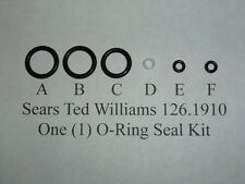 Sears Ted Williams 126.1910 Co2 Rifle One Complete O-Ring  Seal Kit