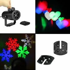 Moving Snowflake LED Laser Light Projector Christmas Home Rotate Party Decor US