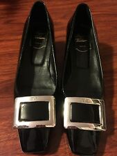 Roger Vivier Inspired Pumps Shoes Patent Leather Size 38