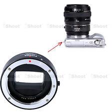 Auto-focus électronique Bagues Adaptateur Canon EF EF-S Objectif Sony NEX Camera