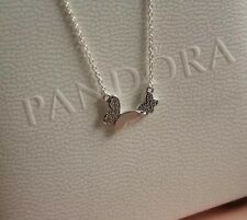 Perfect Gift Genuine Pandora S925 Ale Butterfly Necklace-590520CZ-45cm