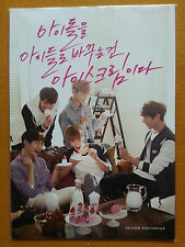 "SHINee Baskin Robbins Photo Book KPOP SHINEE Limited Quantity Rare (6.6""x9.4"")"