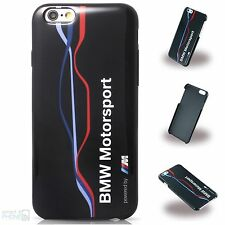 Bmw m iPhone 6,6s, FUNDA RÍGIDA, FUNDA back cover funda protectora para móvil Motorsport Black