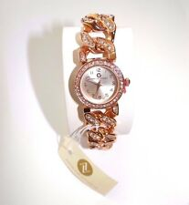 Adrienne Vittadini Women's Rose Gold Bracelet Watch Japan Movement SALE