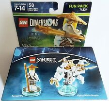 NEW LEGO DIMENSIONS FUN PACK NINJAGO SENSEI WU 71234 FREE WORLDWIDE SHIPPING