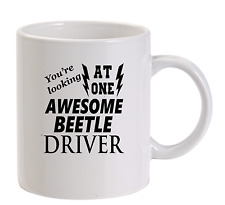 Awesome Beetle Driver Mug New Funny Birthday Gift Dad VW