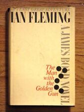 THE MAN WITH THE GOLDEN GUN BY IAN FLEMING (1965) 1ST ED/1ST PR HCDJ