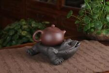 1pc Teapot Rest * Yixing Zisha Clay Gongfu Tea Pet Lucky Toad Decoration