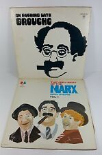 "MARX BROTHERS & GROUCHO DOUBLE 12"" VINYL RECORD ALBUMS"