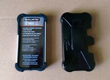 Ballistic Protective I-Phone 5/5S Case Rugged Swivel Holster Clip SG MAXX (NEW)